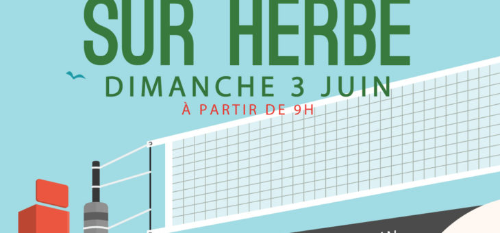 Tournoi de Volley sur herbe du SAM !