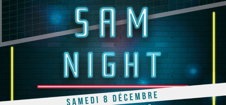 SAM NIGHT – Tournoi de Volley 4×4