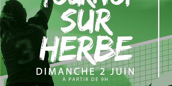 Tournoi sur Herbe 3×3 – SAM Volley