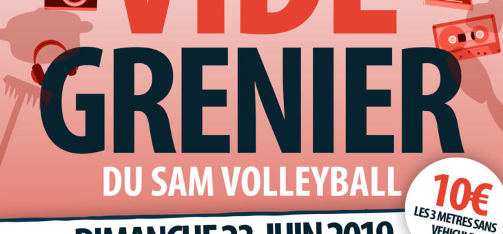 Vide Grenier du SAM VOLLEY